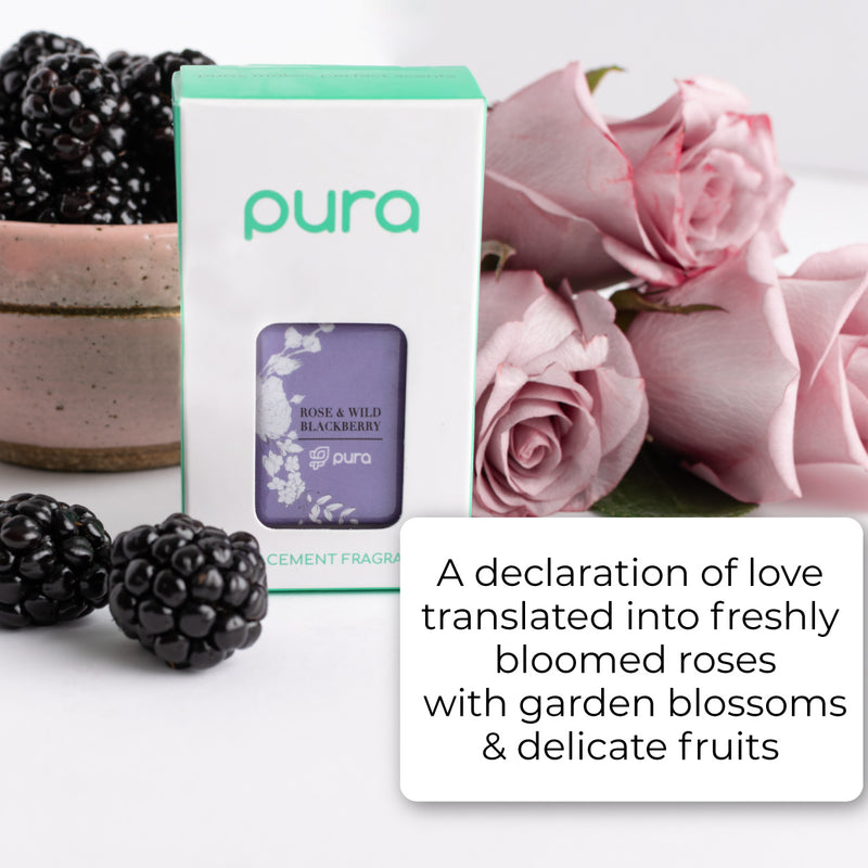 A declaration of love translated into freshly bloomed roses with garden blossoms & delicate fruits