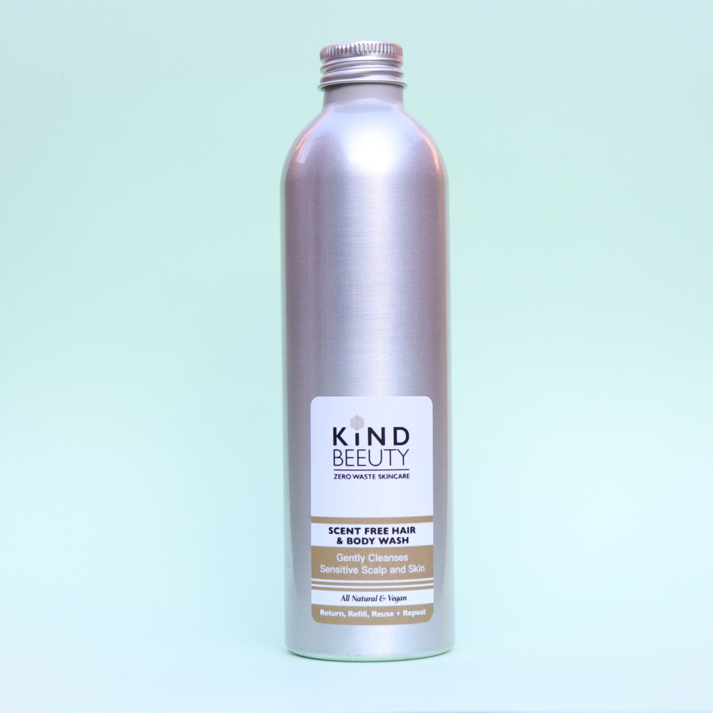 SCENT FREE HAIR & BODY WASH 250ML
