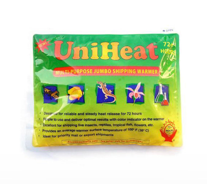 72+ HOUR SHIPPING WARMER - heat pack