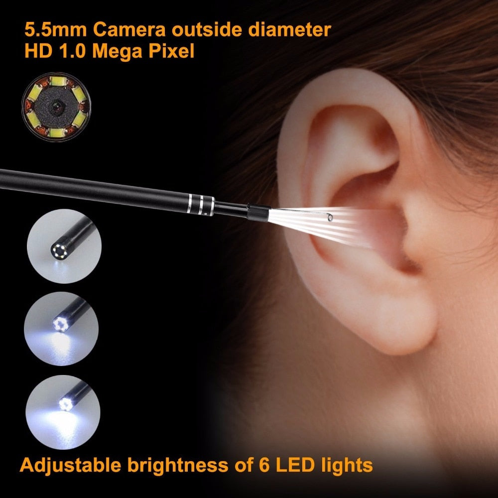 EasySono™ Endoscope Ear Cleaner