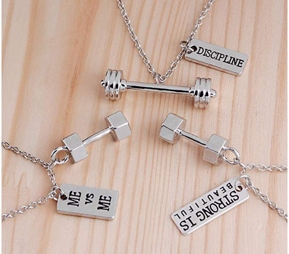 The Dumbell Necklace