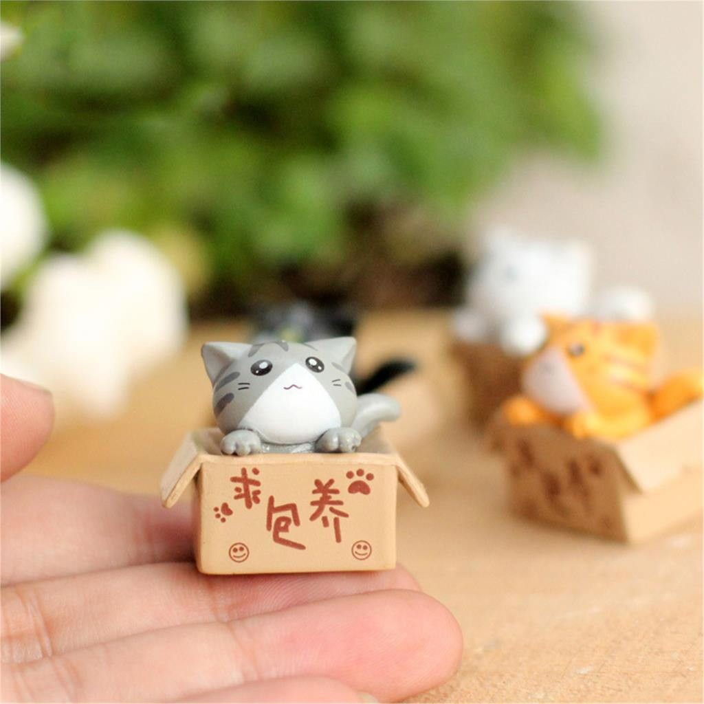 Cute Cat & Dog Decorative Miniatures