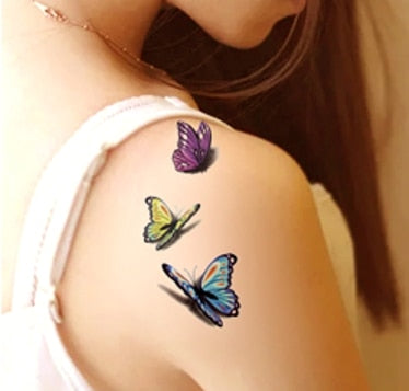 Assorted Beautiful Temporary Tattoo Stickers