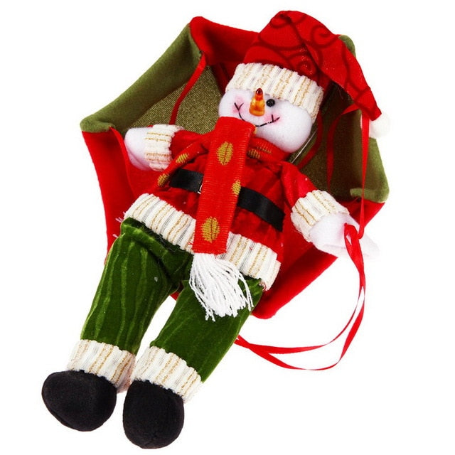 Santa Parachute Christmas Decoration