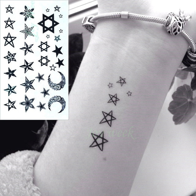 Beautiful Temporary Tattoo Stickers