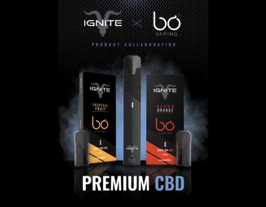 Ignite Launches 'Ignite X Bō Vaping' CBD Collaboration Line