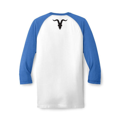 Raglan Baseball Tee - True Blue