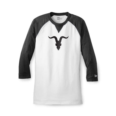 Raglan Baseball Tee - Black