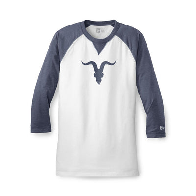 Raglan Baseball Tee - Navy Blue