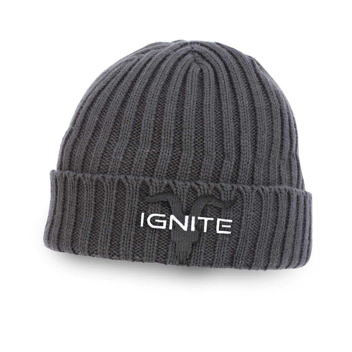 Ignite Premium Collection Classic Charcoal Beanie - ignite-merch
