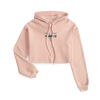 Ignite Premium Collection Ladies Peach Cropped Hoodie - ignite-merch