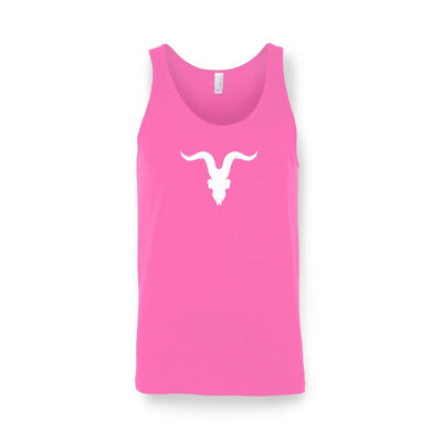 'Ready for Summer' Tanks - Neon Pink with White Logo