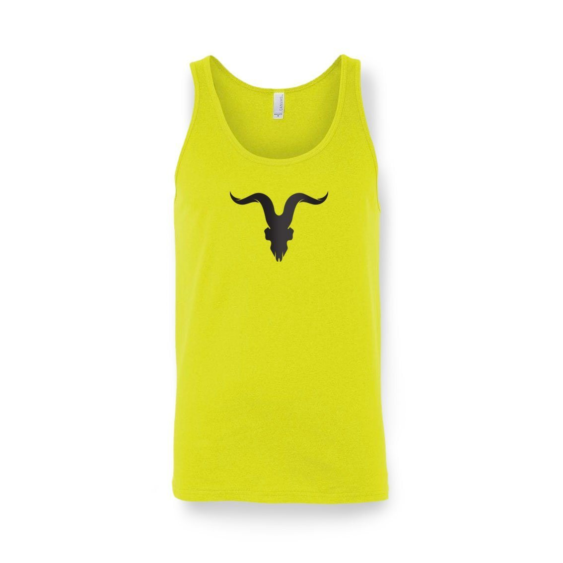 'Ready for Summer' Tanks - Neon Yellow with Black Logo
