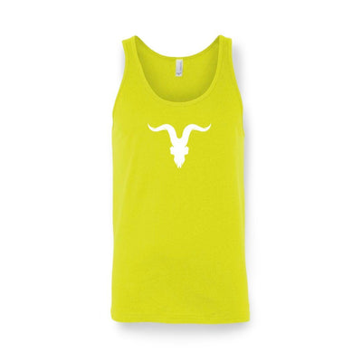 'Ready for Summer' Tanks - Neon Yellow with White Logo