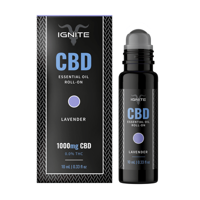 1000MG CBD Roll-On Oil - Lavender