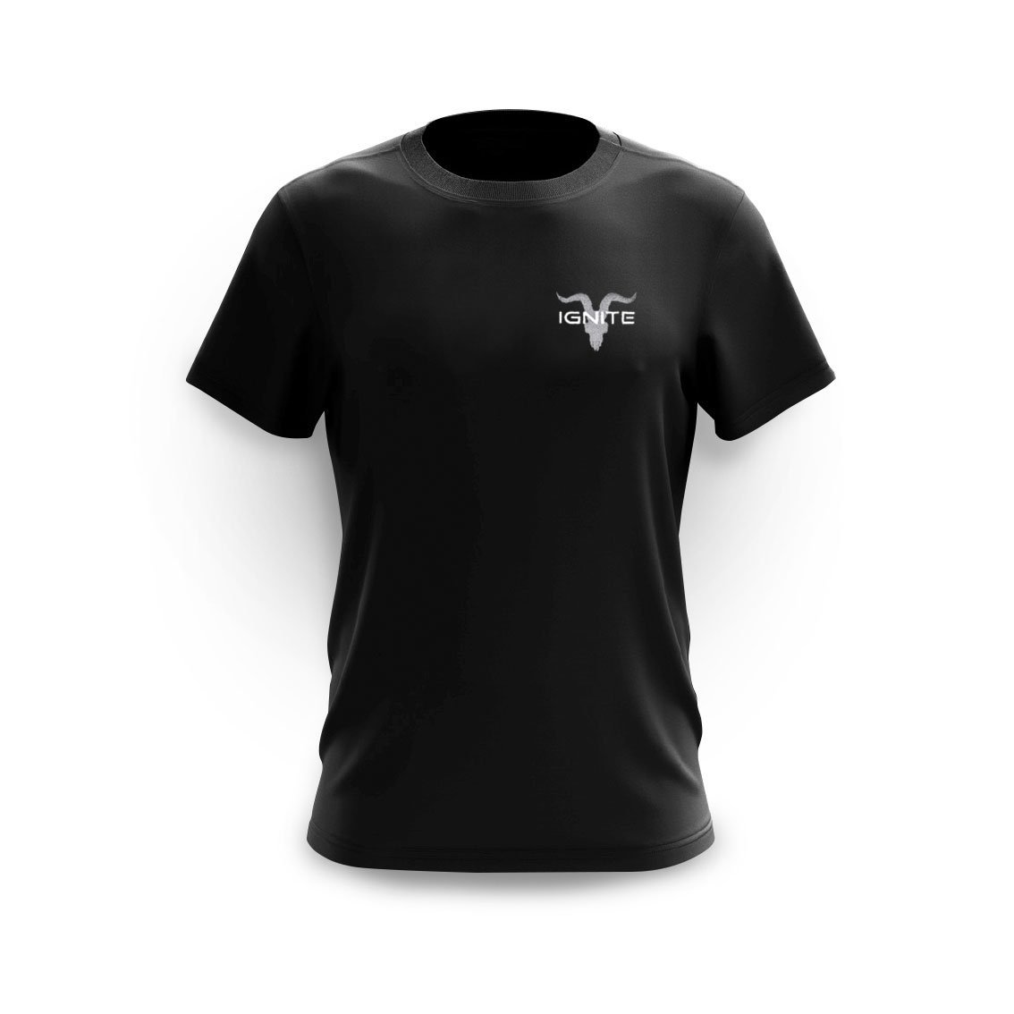 Black Chest Logo Tee