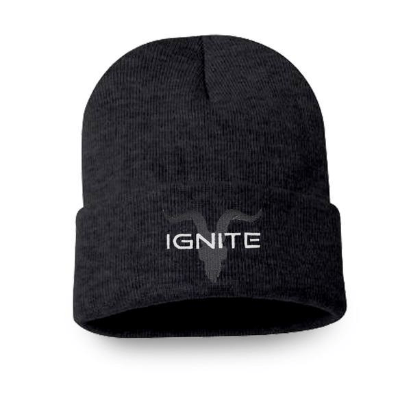 Tight Knit Dark Grey Beanie