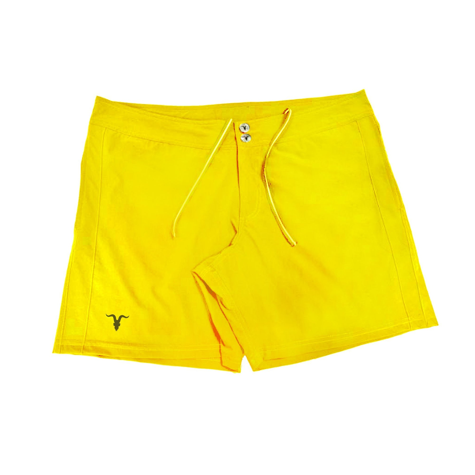 Men's Swim Shorts - Yellow