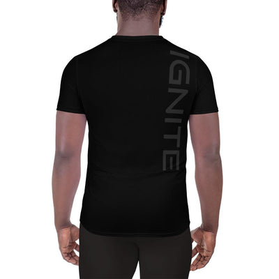 Men's Athletic T-shirt - Black