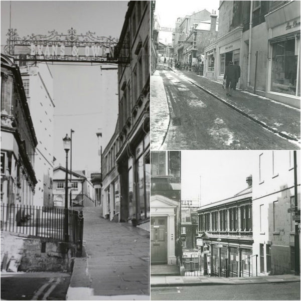 old photoraphs of Bath, Bartlett st