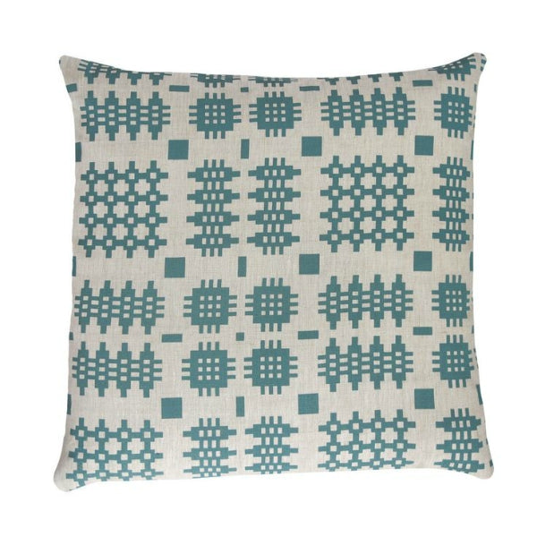 peris and corr welsh blanket print cushions