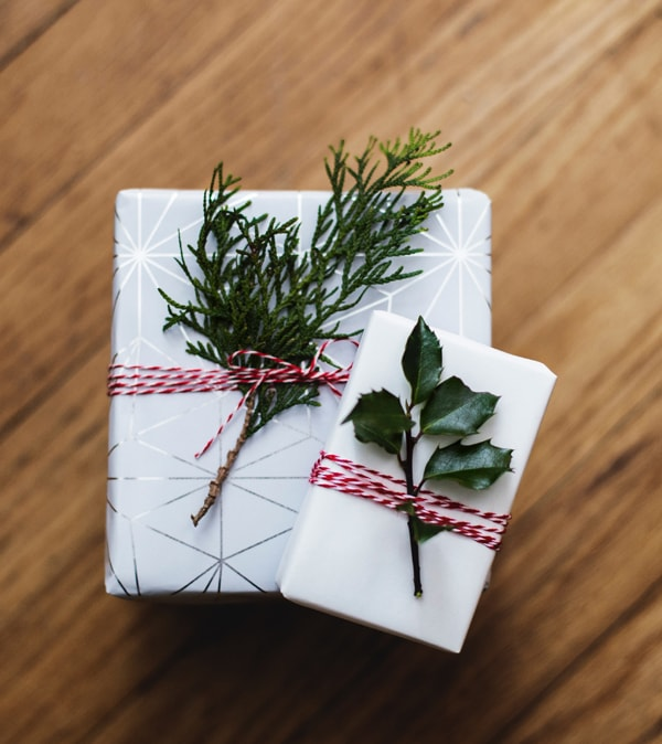 Recyclable Gift Wrapping