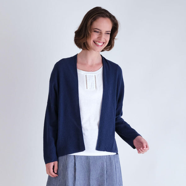 Cara Organic Cotton Cardigan