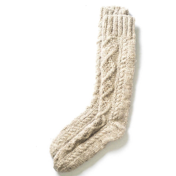 Classic Wool Knitted Socks - BIBICO