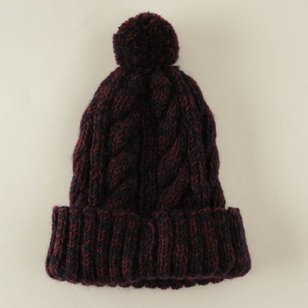 Inga Chunky Knit Bobble Hat