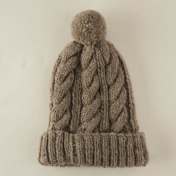 Inga Classic Wool Bobble Hat
