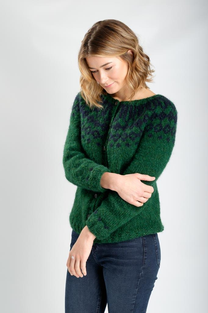 Abby Fair Isle Cardigan - BIBICO