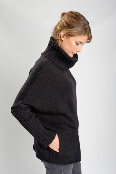 Adela Oversized Wool Jumper - BIBICO