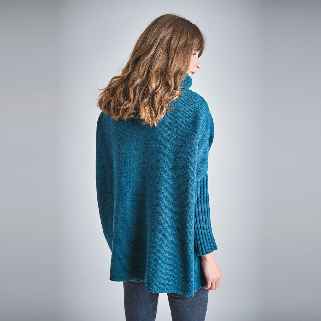 Adela Oversized Wool Jumper Bibico