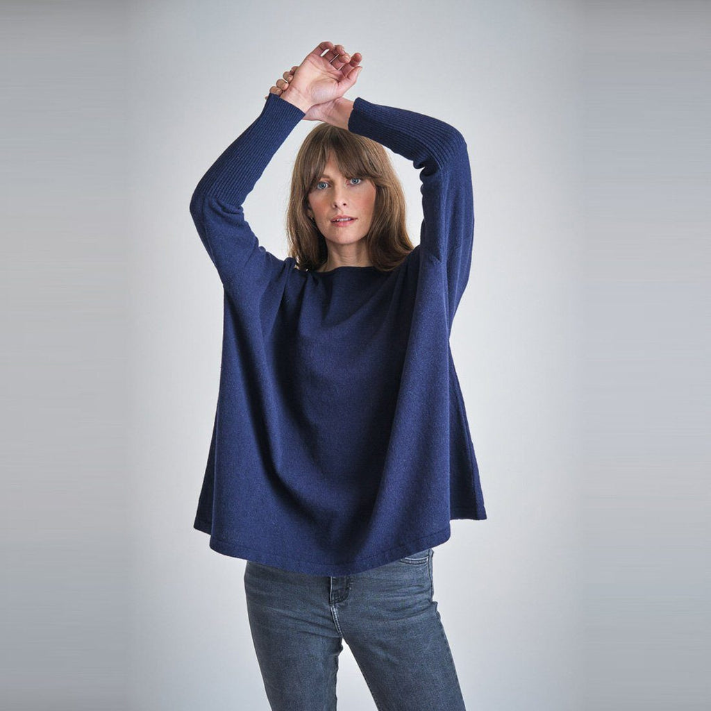 Aimee Oversized Wool Jumper Bibico