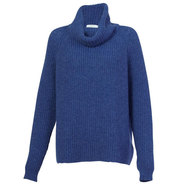 Audrey Chunky Cowl Neck Jumper - BIBICO
