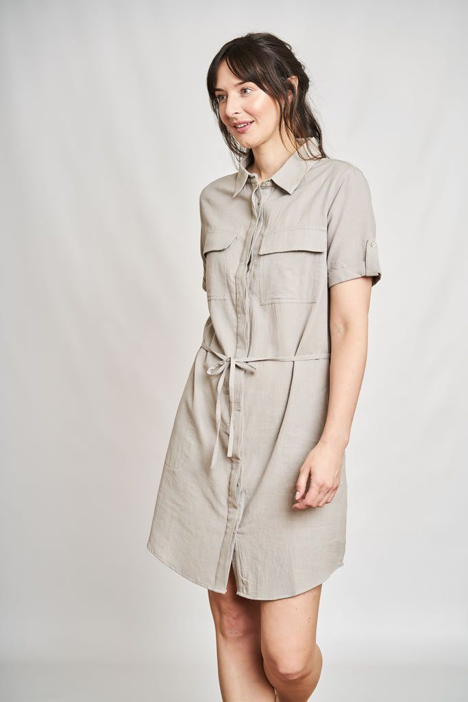Aurelie Shirt Dress - BIBICO
