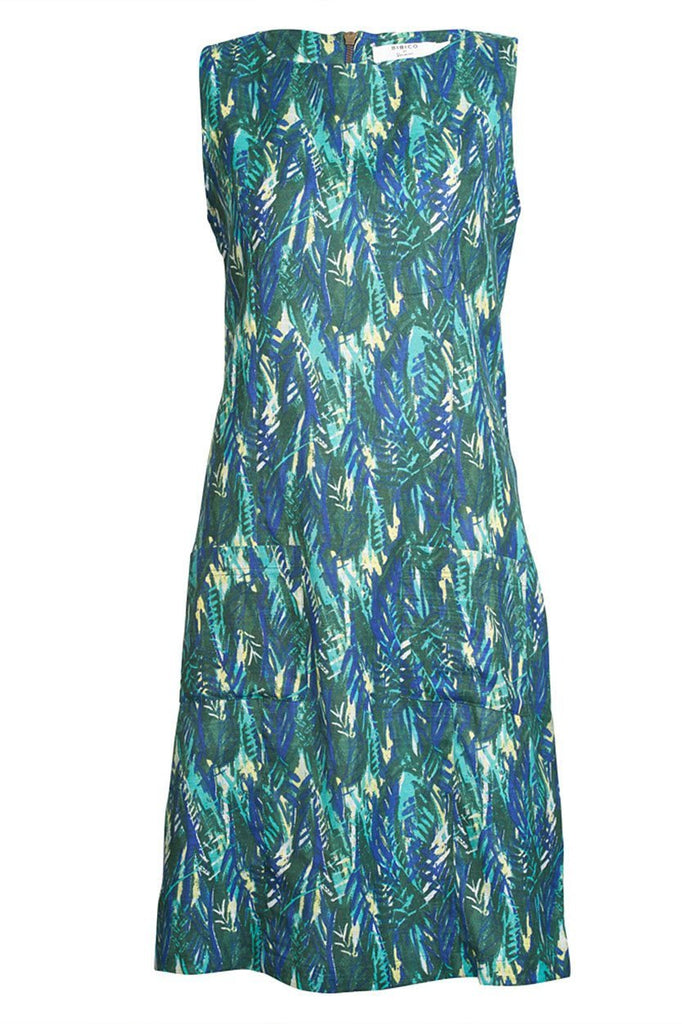 Botanical Sleeveless Dress - BIBICO