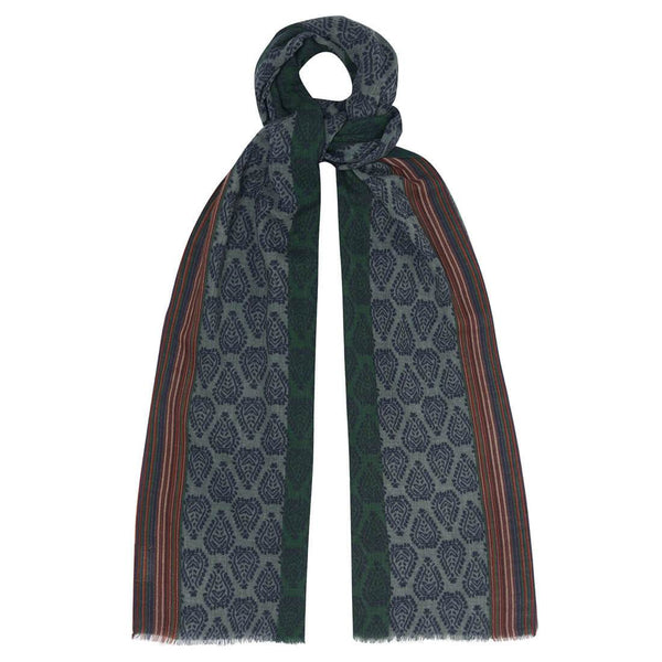 Brook Fine Wool Scarf Bibico
