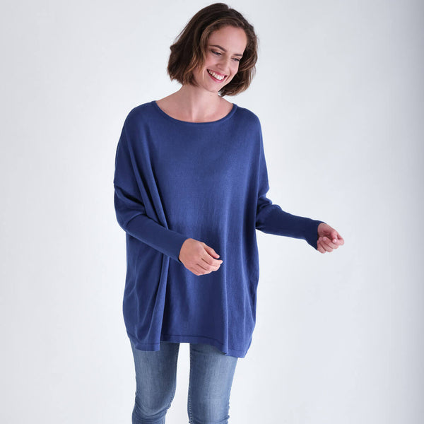 Eva Oversized Organic Cotton Jumper