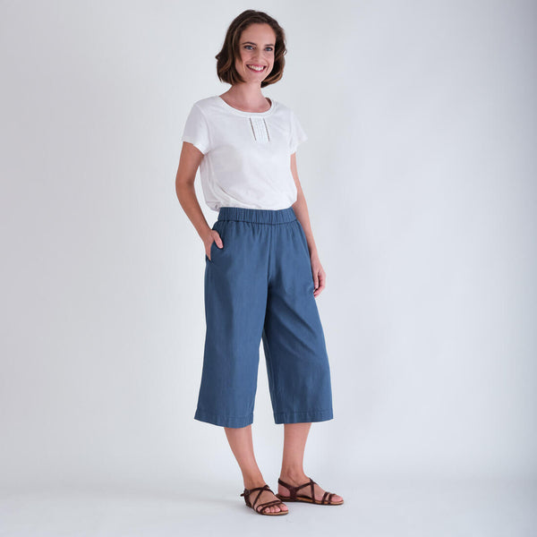 Mila Denim Culottes