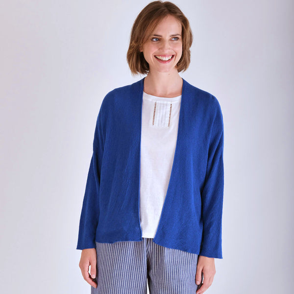 Cara Cornflower Blue Cardigan