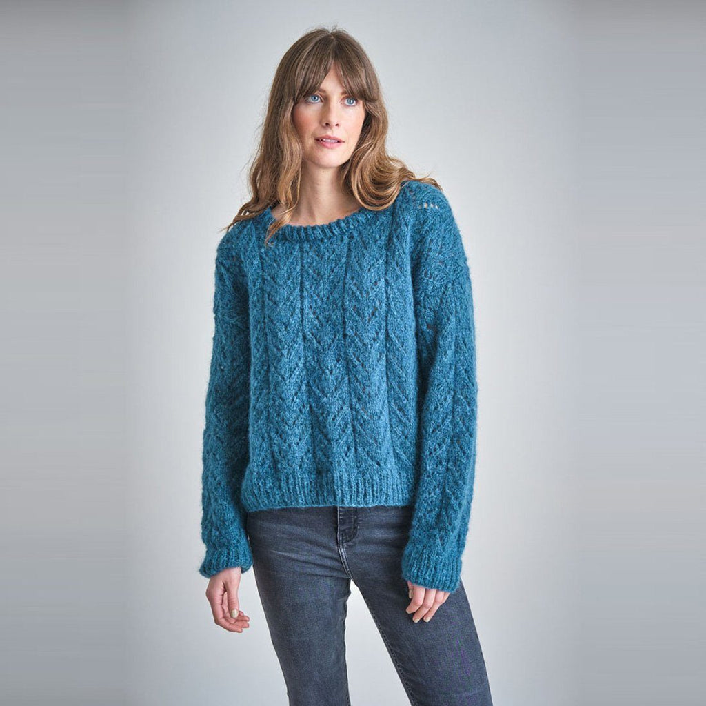 Christy Hand Knitted Mohair Jumper knitwear bibico