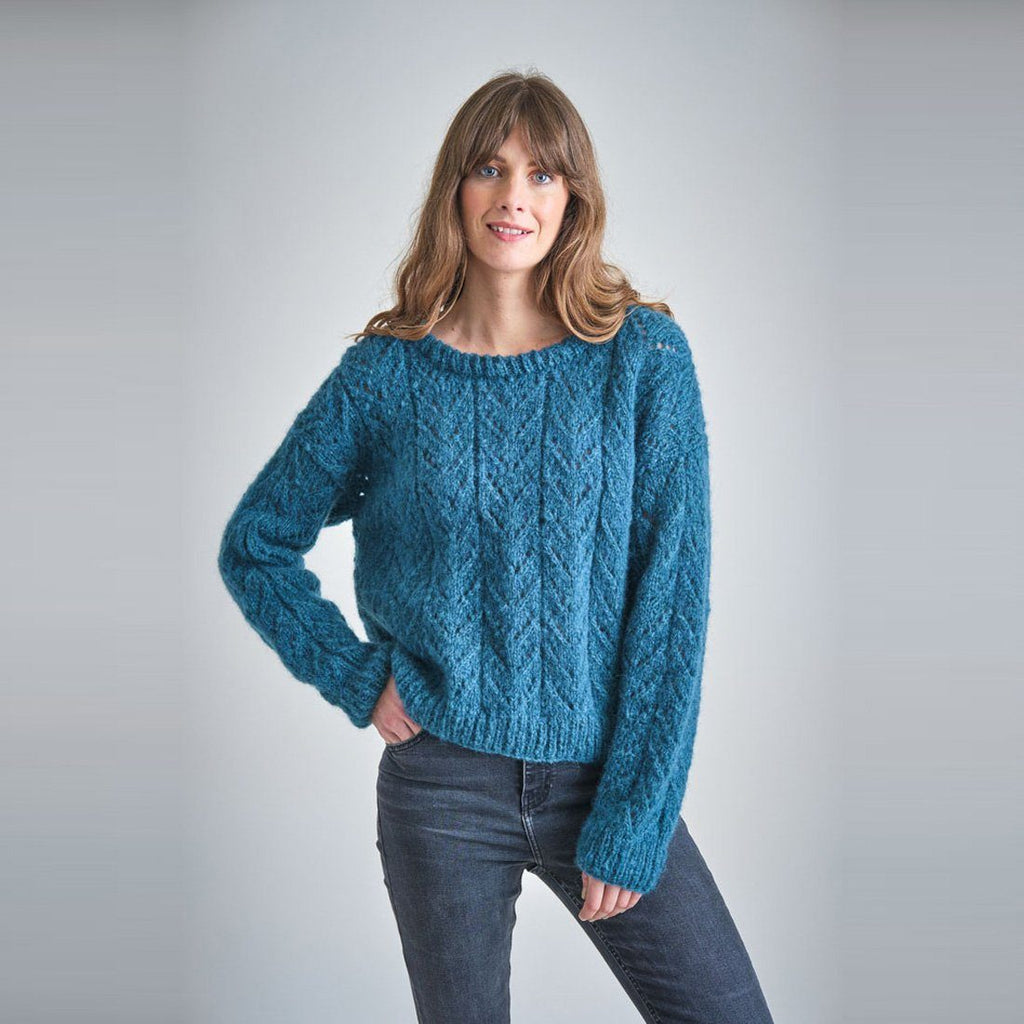 Christy Hand Knitted Mohair Jumper Bibico