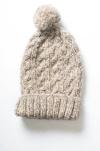 Classic Knitted Bobble Hat - BIBICO
