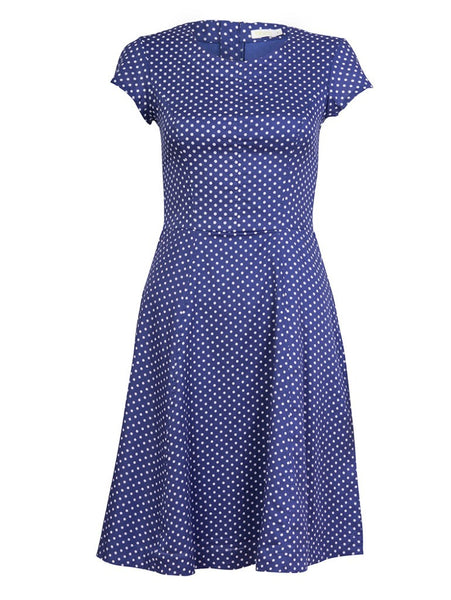 Dahlia Polka Dot Tea Dress - BIBICO