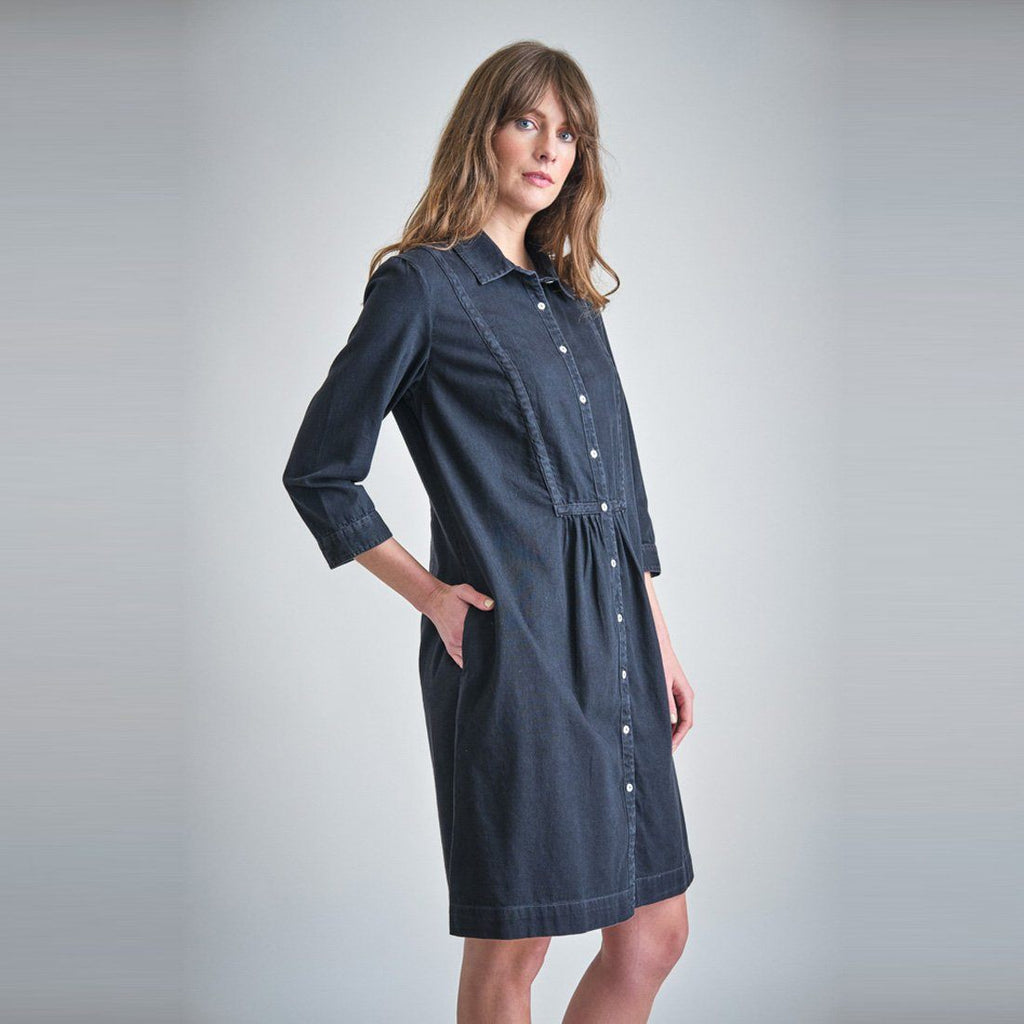 Della Denim Shirt Dress dress BIBICO