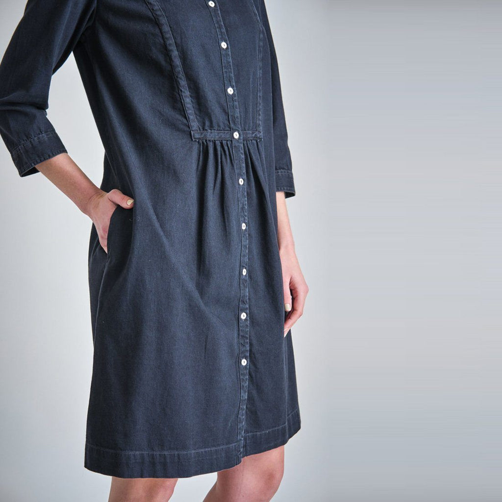 Della Denim Shirt Dress Bibico
