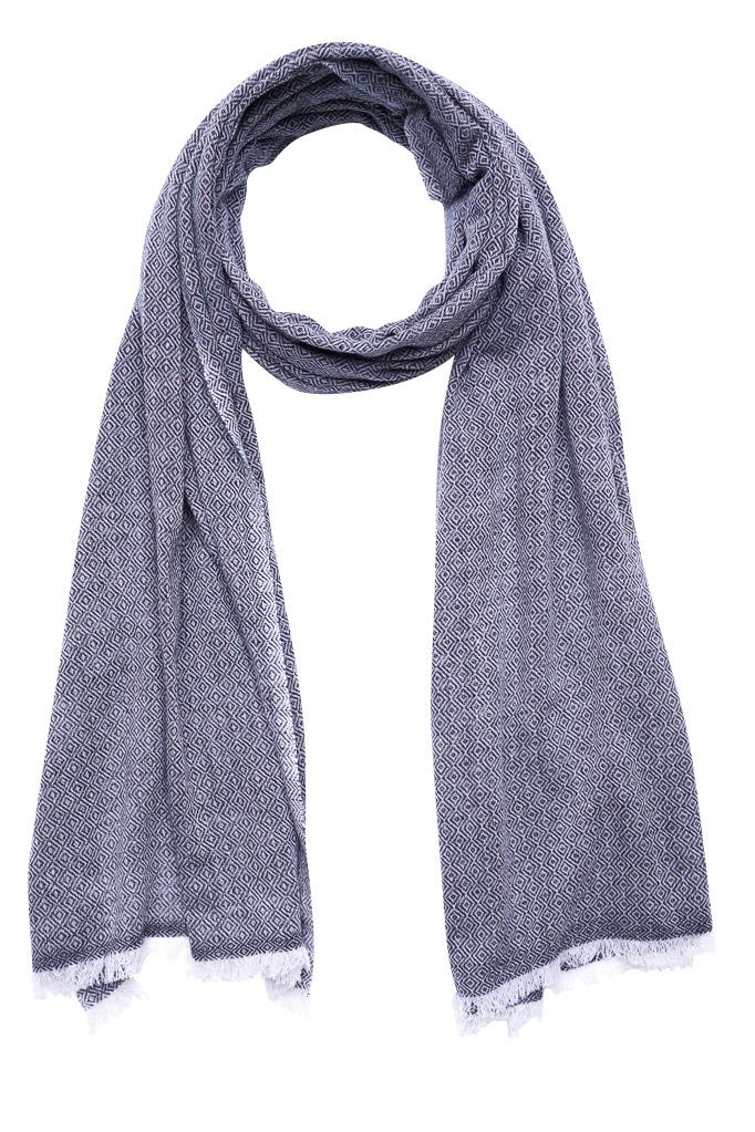 Diamond Fine Wool Scarf - BIBICO
