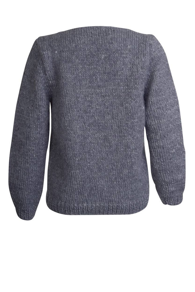 Elena V Neck Wool Jumper - BIBICO