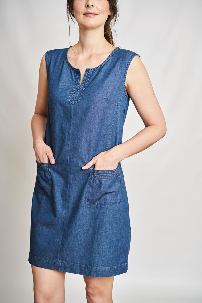 Emilia Denim Tunic Dress - BIBICO